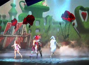 Alice im Wunderland von Ricardo Fernando, 3D-Animationen: Lieve Vanderschaeve