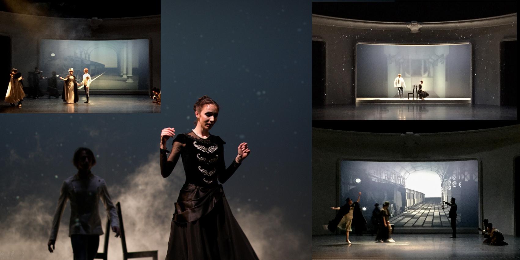 Anna Karenina, Ballett von Tomasz Kajdanski, Teatr Wielki, Poznan, Polen